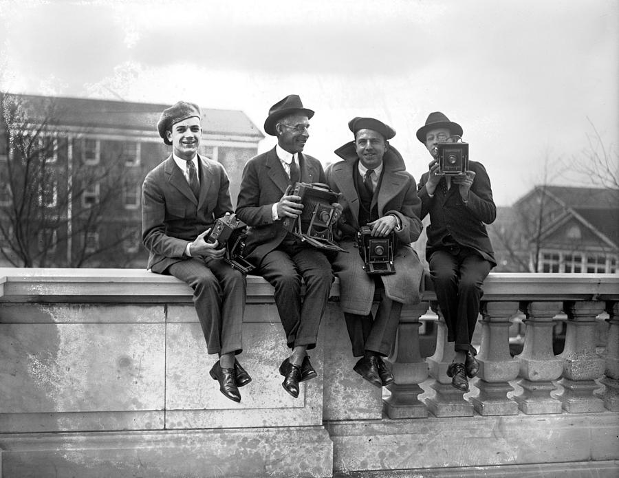 20th Century Photograph - Four Photographers by Granger