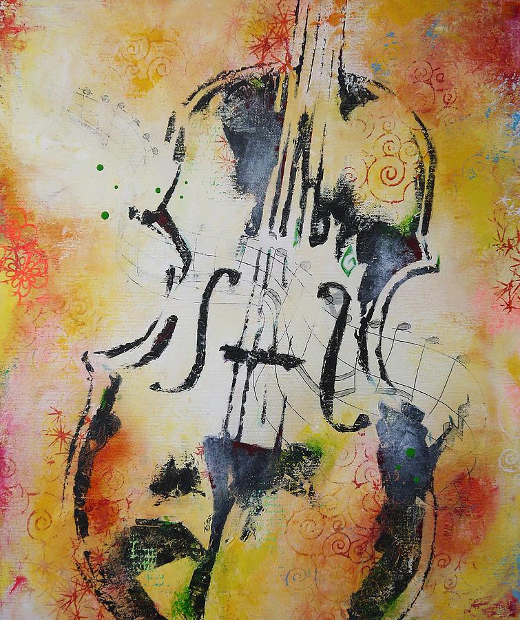Violins Painting - Four Season Fall by Bitten Kari