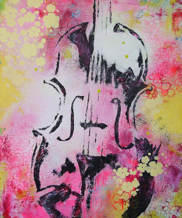 Music Painting - Four Seasons Summer by Bitten Kari