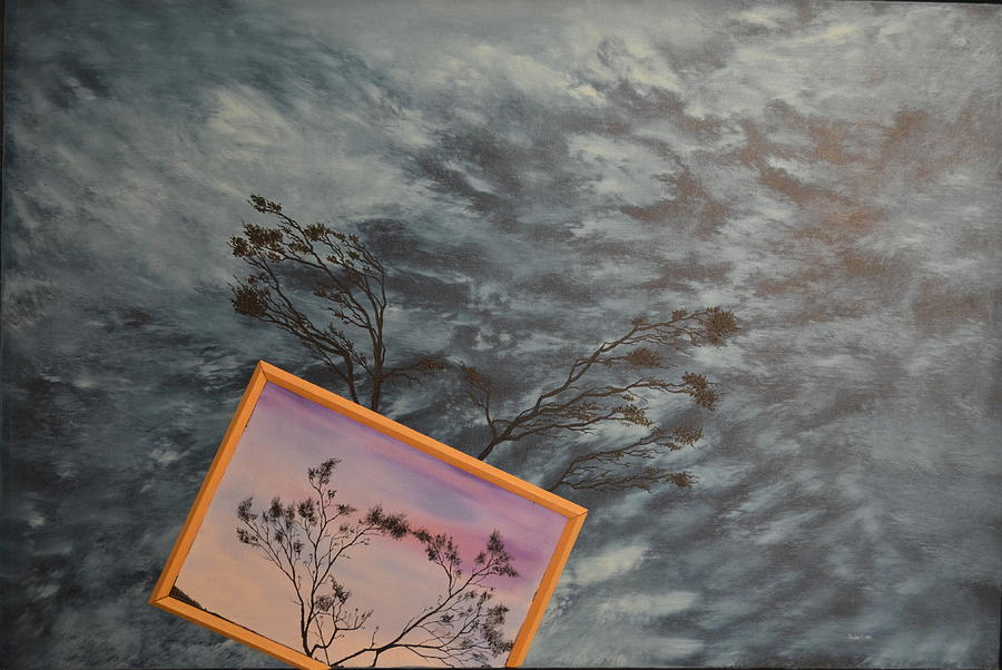Oil Painting Painting - Four Winds Of Change by Stuart Engel