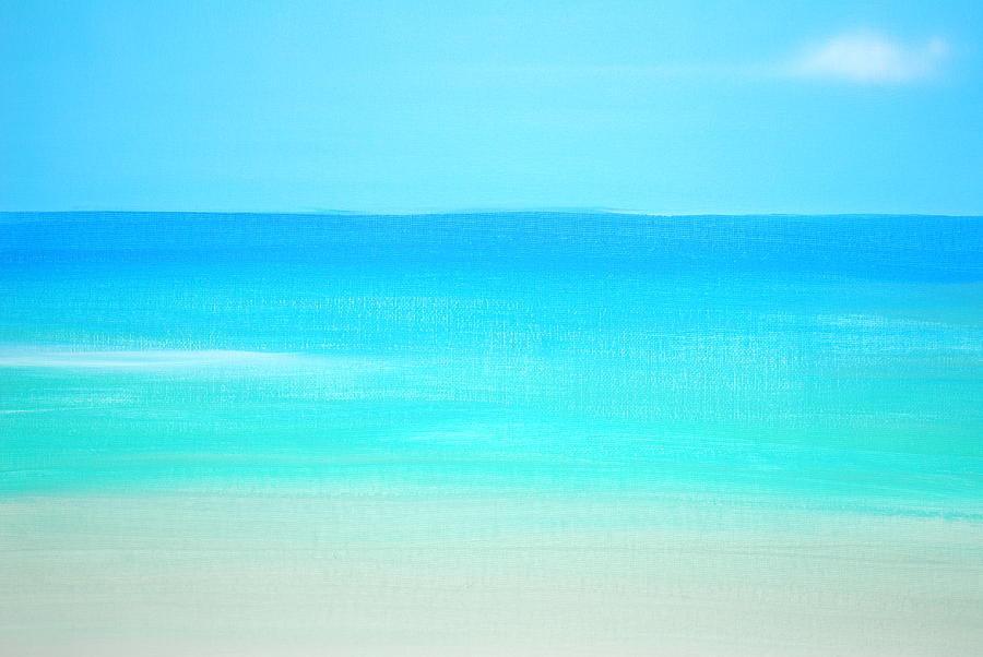 Beach Painting - Fourcolours by DC Decker