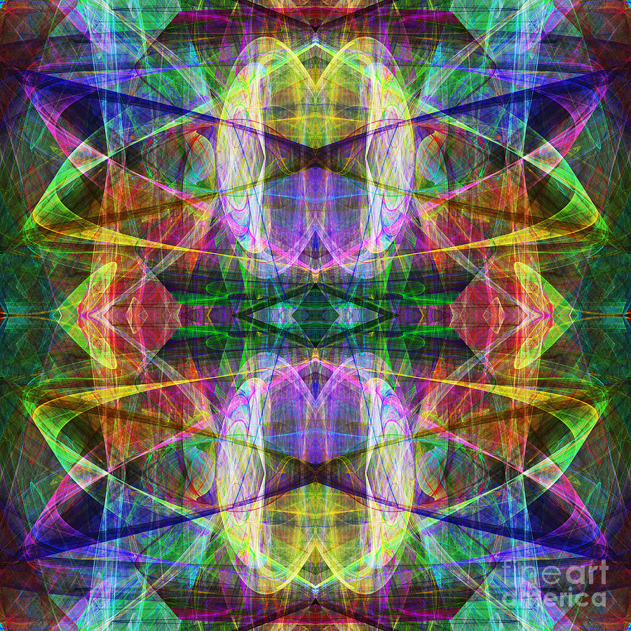 Fractal Photograph - Fourth Dimension Ap130511-22-2b by Wingsdomain Art and Photography