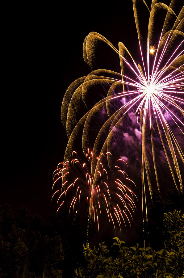 Fireworks Photograph - Fourth Of July by Jason Smith