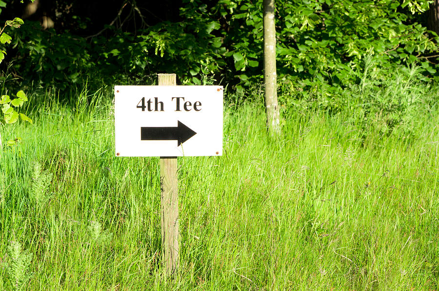 4th Photograph - Fourth Tee by Tom Gowanlock