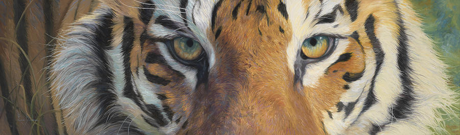 Tiger Painting - Forever Wild by Lucie Bilodeau