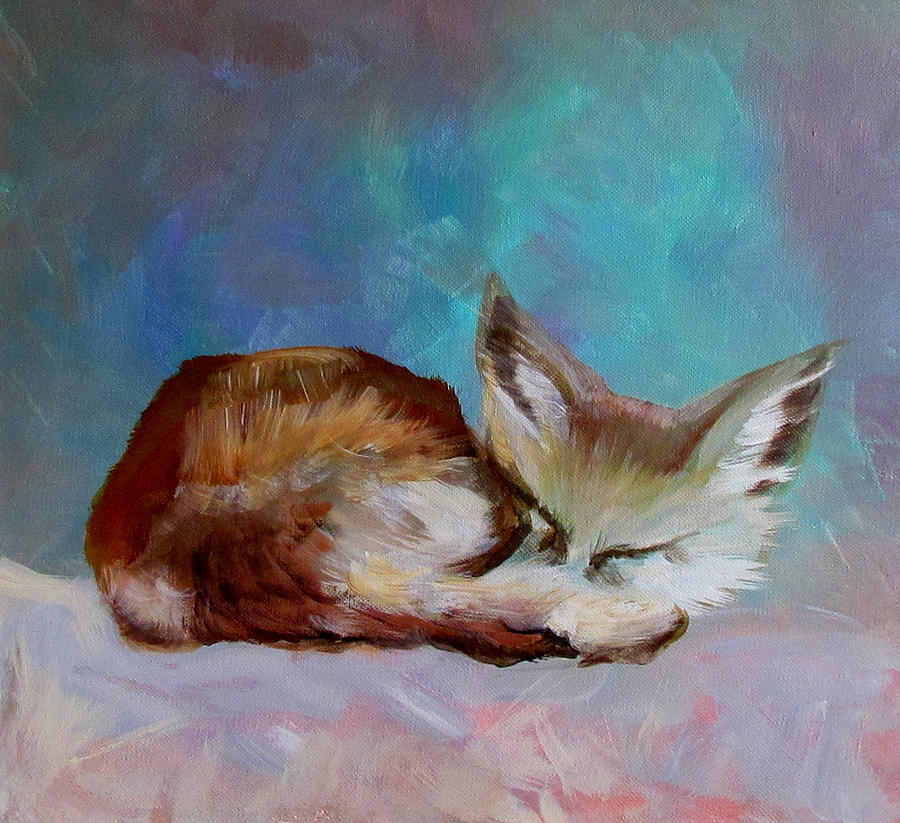 Fox Cub by Susan Duxter