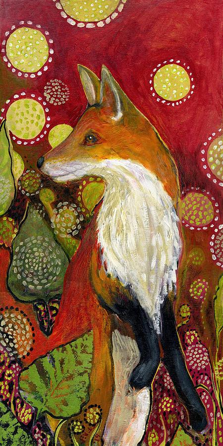 Fox Listens Painting
