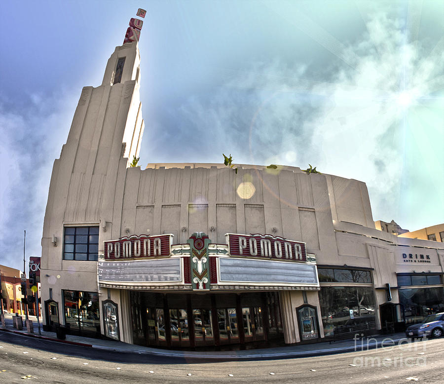 Fox Theater Photograph - Fox Theater - Pomona - 06 by Gregory Dyer