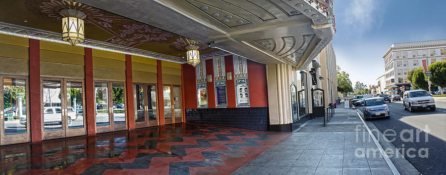 Fox Theater Photograph - Fox Theater - Pomona - 07 by Gregory Dyer