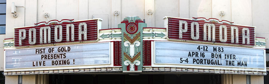 Fox Theater Photograph - Fox Theater - Pomona - 09 by Gregory Dyer