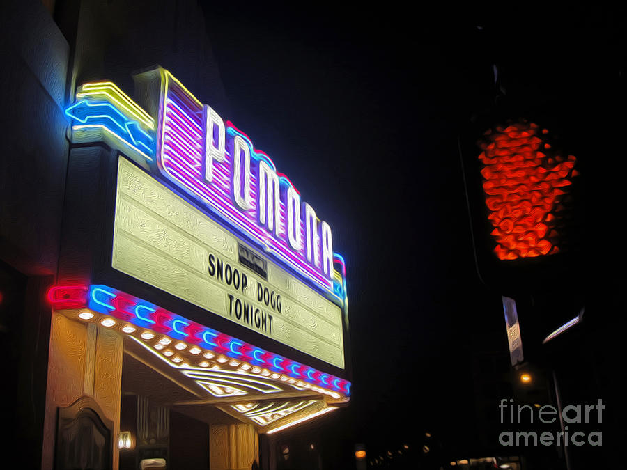 Fox Theater Photograph - Fox Theater - Pomona - 11 by Gregory Dyer