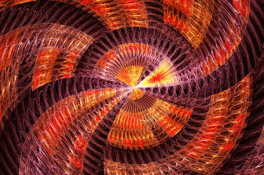 Abstract Digital Art - Fractal - Abstract - The Constant by Mike Savad