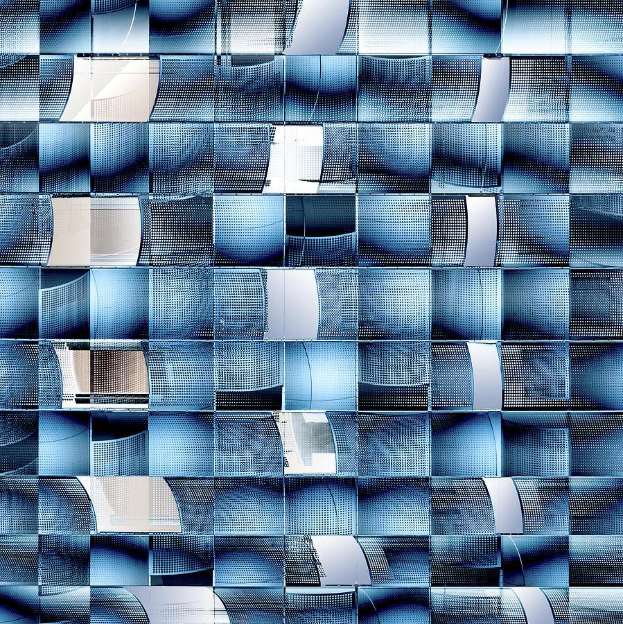 Abstract Photograph - Fractal Chaos. by Harry Verschelden