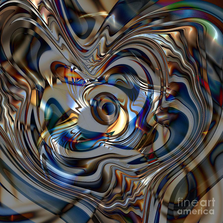 Fantasy Digital Art - Fractal Fantasy 2 by Klara Acel