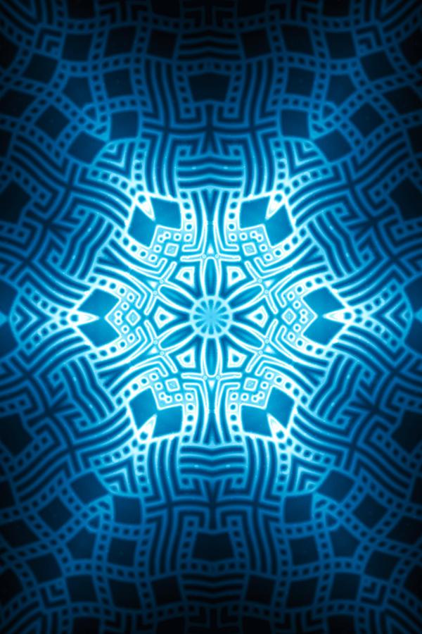 Fractal Snowflake Pattern 2 Digital Art