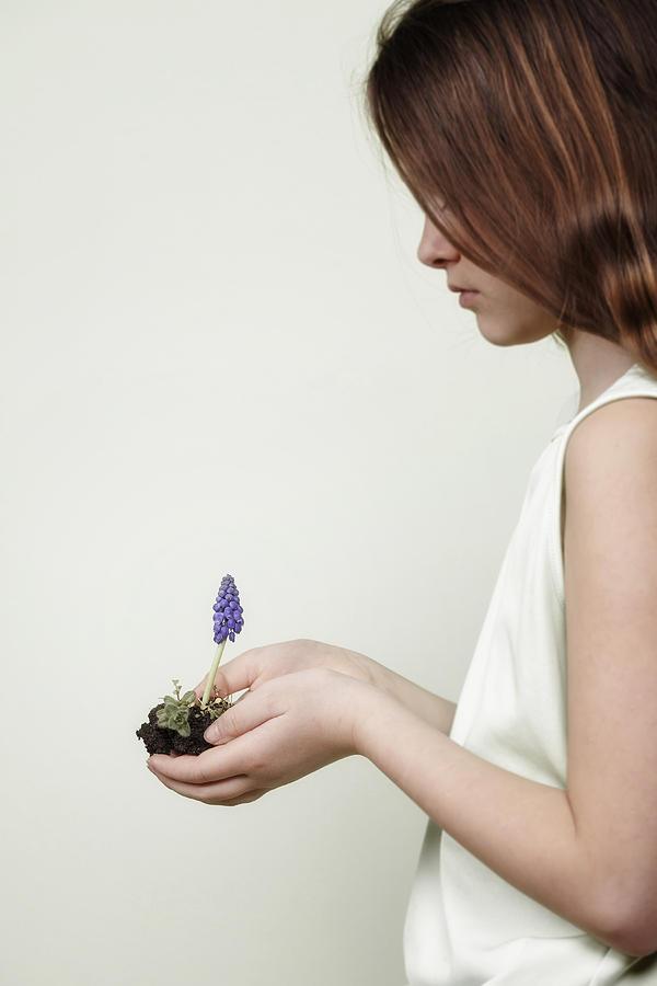 Girl Photograph - Fragile Spring by Joana Kruse