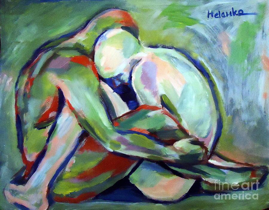 Colorful Painting - Fragility by Helena Wierzbicki