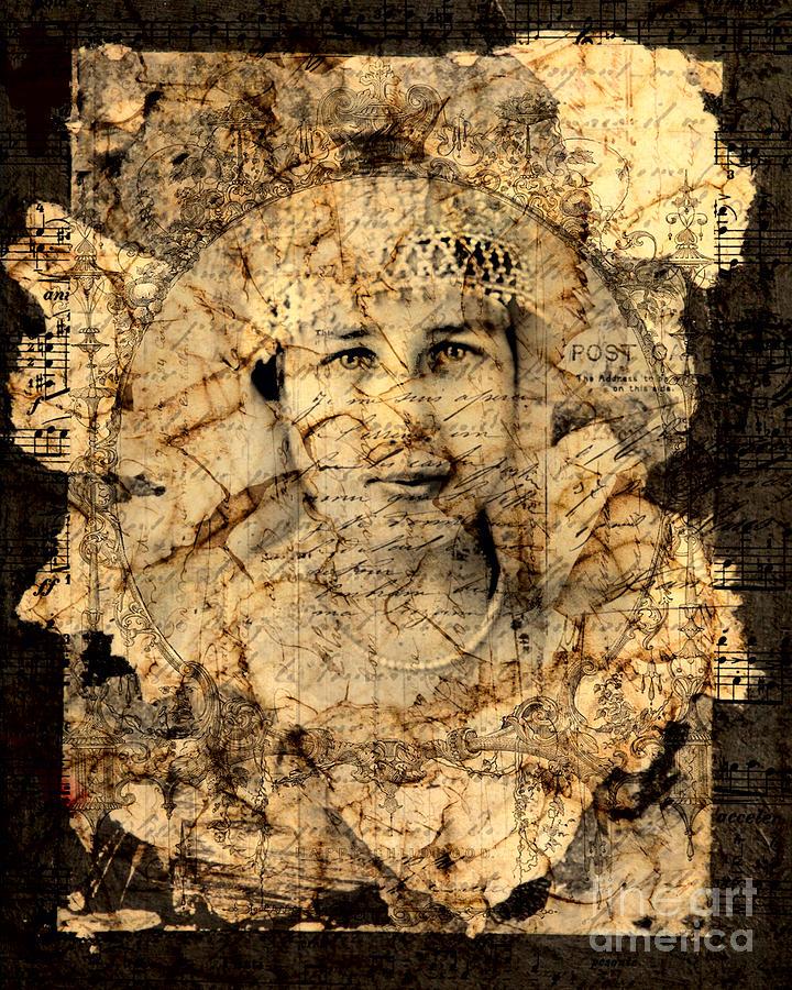 Woman Digital Art - Fragments by Judy Wood