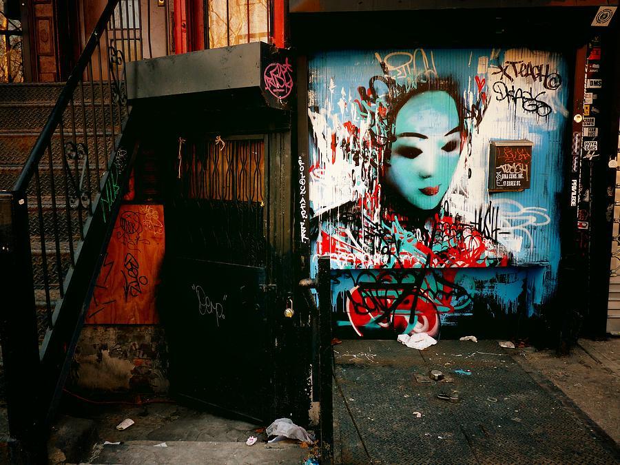 New York City Photograph - Fragments - Street Art - New York City by Vivienne Gucwa
