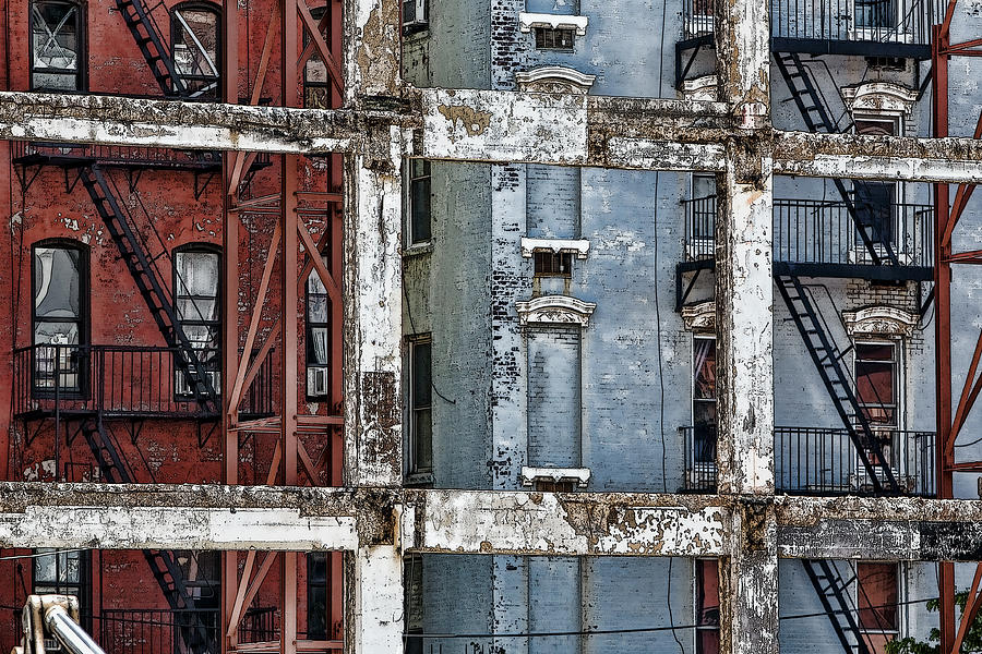 Constructions Photograph - Framed by Joanna Madloch