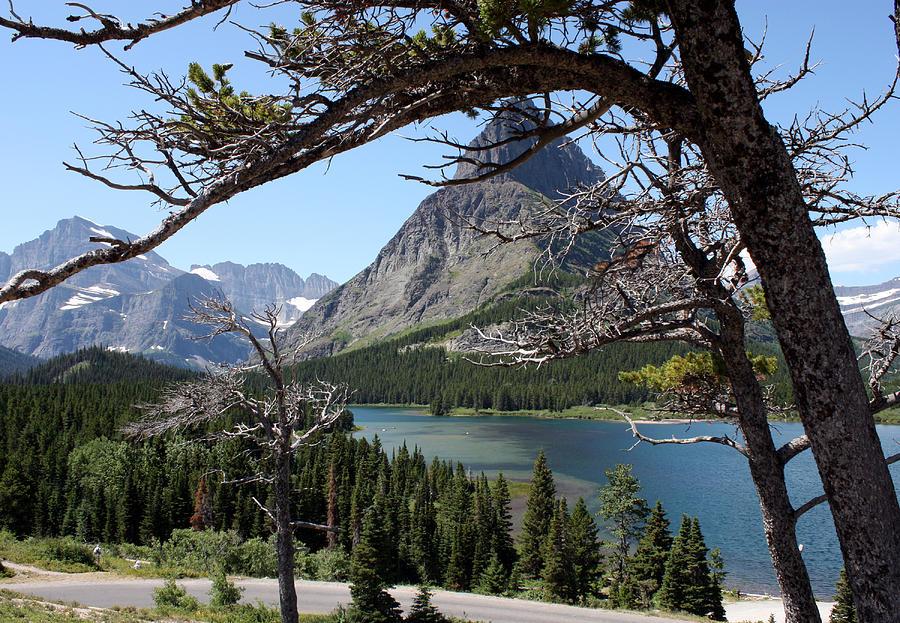 Framed Peaks Photograph by Carolyn Ardolino