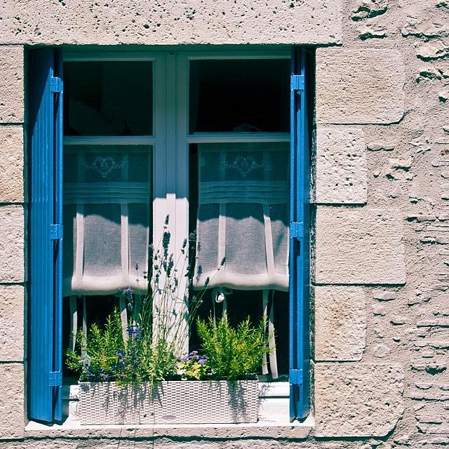 Window Photograph - #france #french #window #shutters by Georgia Fowler