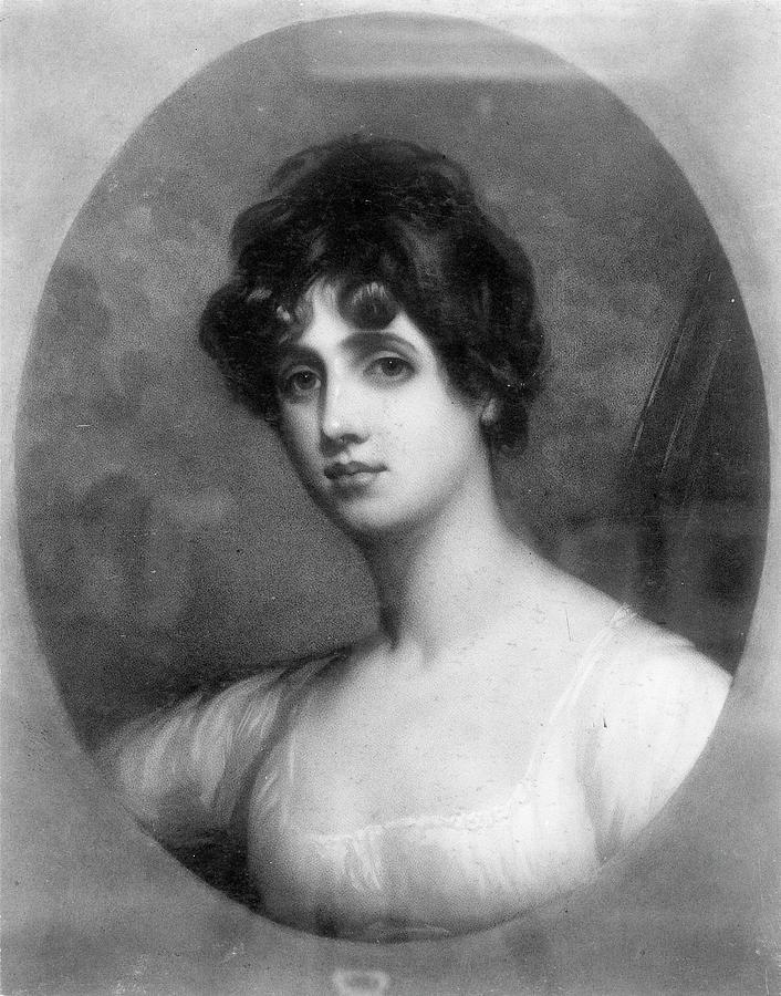 Frances Anne 'fanny' Kemble (1809-1893) Painting by Granger