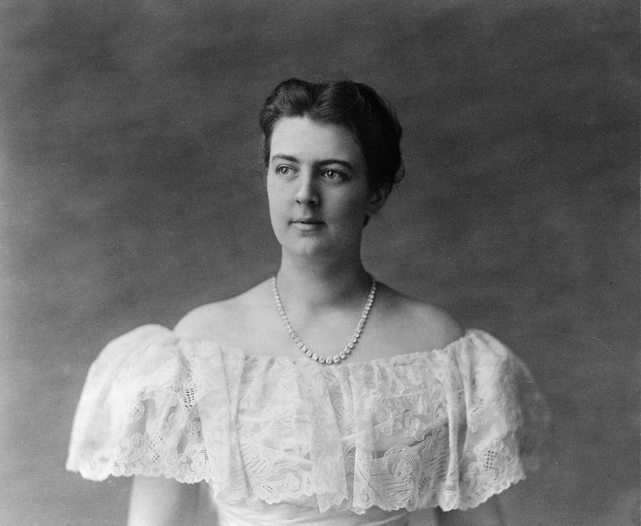 1897 Photograph - Frances Folsom Cleveland (1864-1947) by Granger