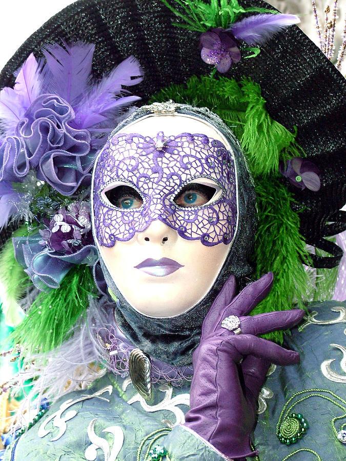 Francines Purple Glove Photograph