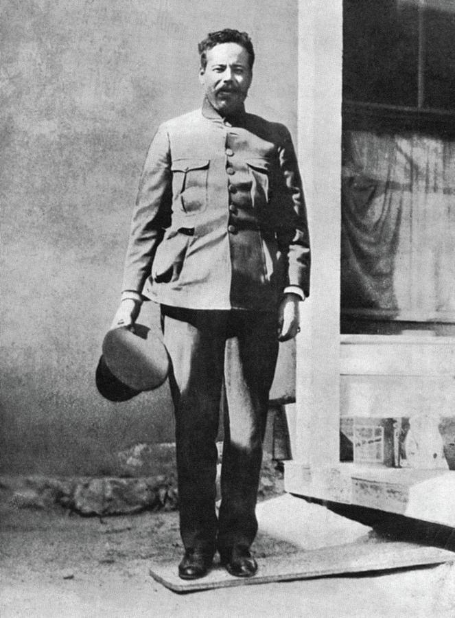 1914 Photograph - Francisco pancho Villa (1877-1923) by Granger
