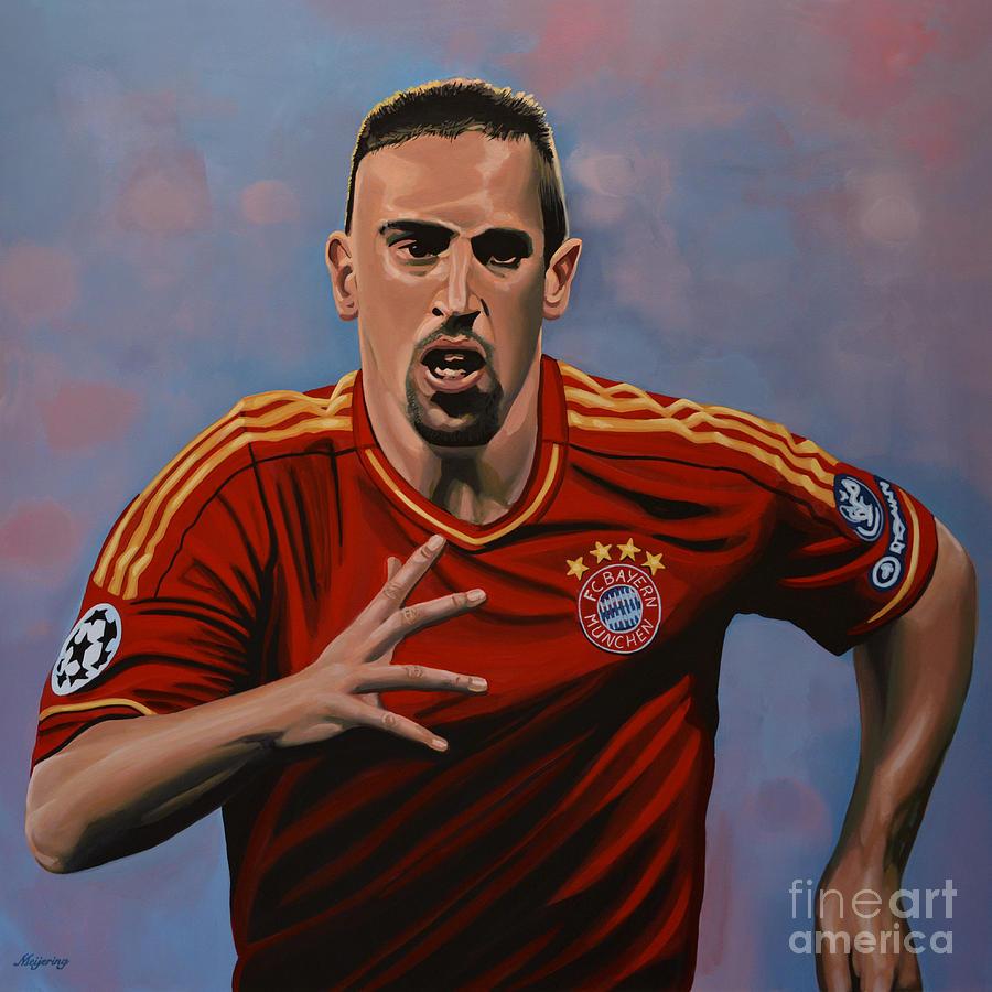 Franck Ribery Painting - Franck Ribery by Paul Meijering