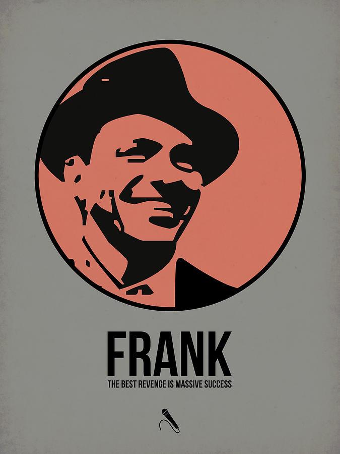 Music Digital Art - Frank Poster 1 by Naxart Studio