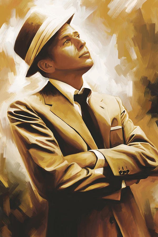 Frank Sinatra Artwork 1 Painting By Sheraz A