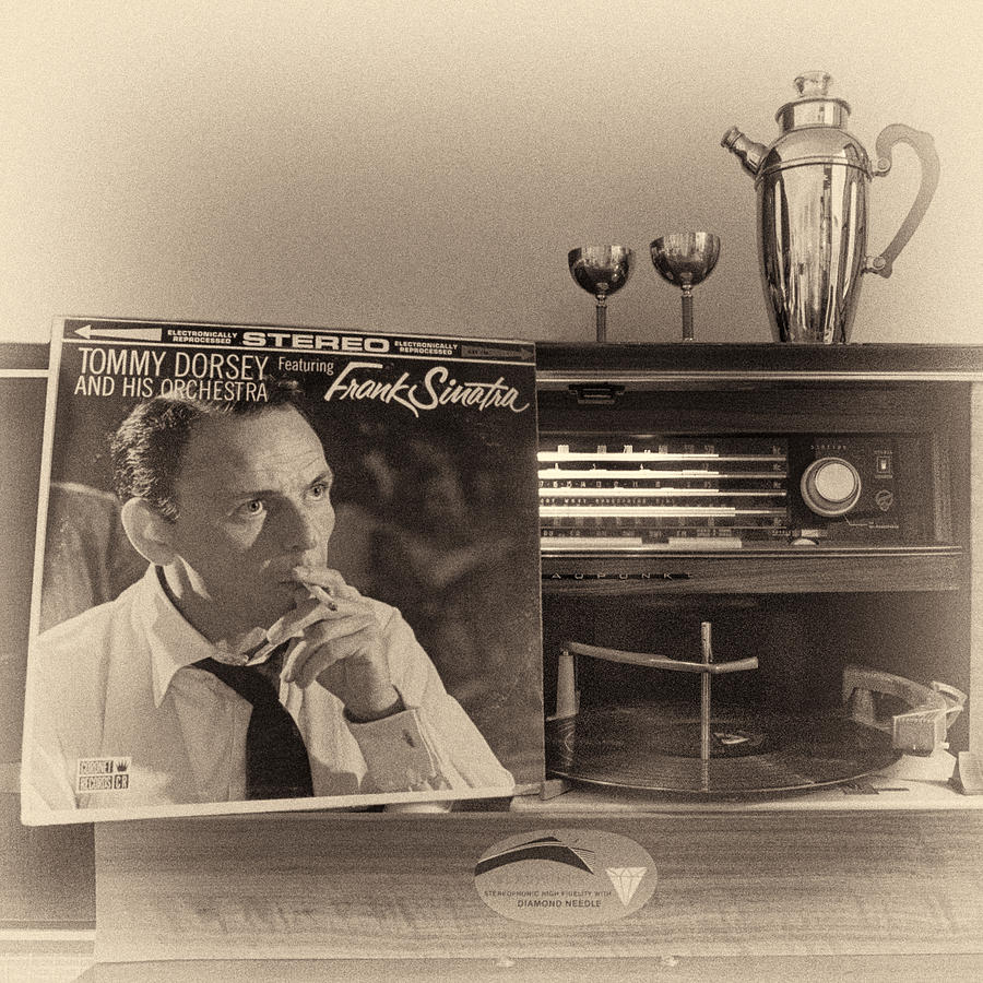 Audiophile Photograph - Frank Sinatra Croons To You by Nancy Strahinic