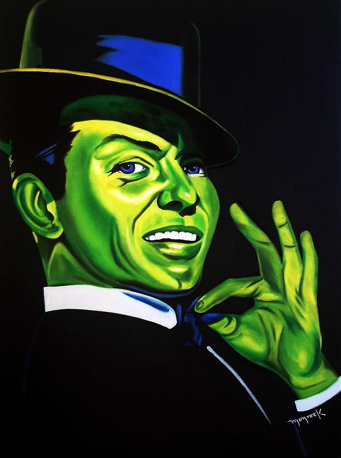 Frank Sinatra Painting - Frank Sinatra by Hector Monroy