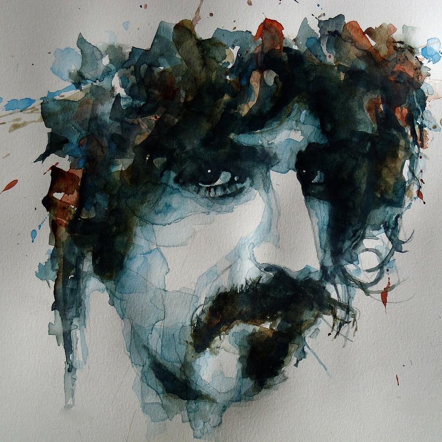 Frank Zappa Happy Birthday regarding frank zappa paintingpaul lovering