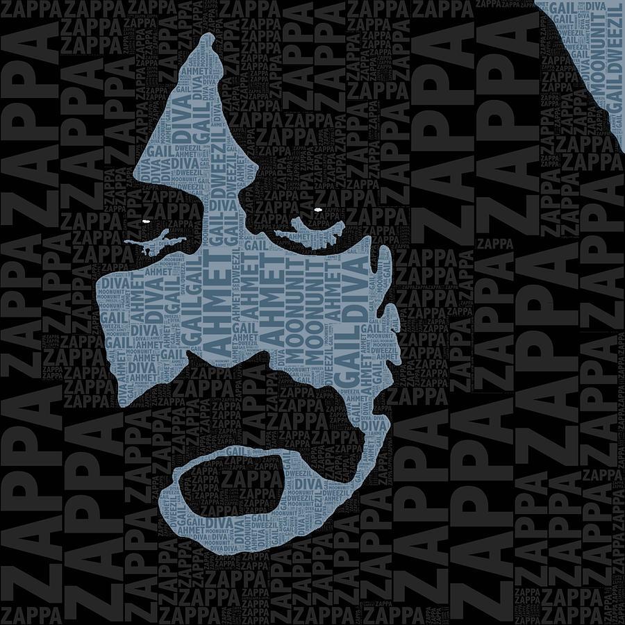 Frank Zappa Painting - Frank Zappa  by Tony Rubino