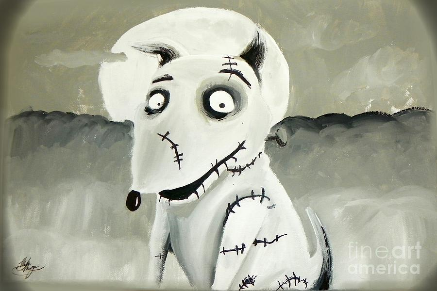 Frankenweenie Painting By Marisela Mungia