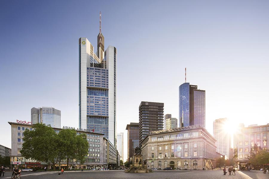 Frankfurt Goetheplatz Photograph by Wecand