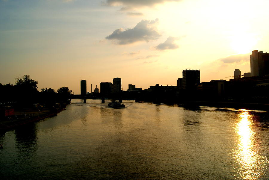 River Photograph - Frankfurt / Main by Adam  S