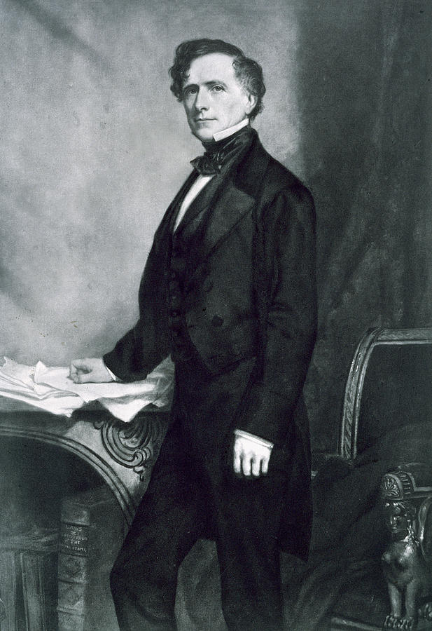 Franklin Pierce Painting - Franklin Pierce by George Healy