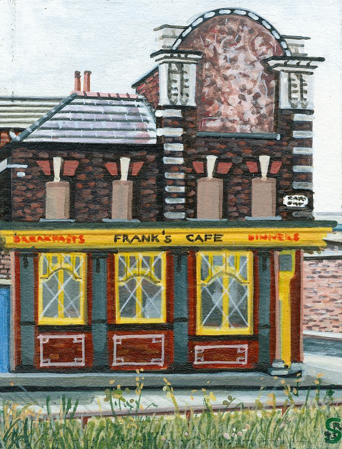 Franks Cafe Painting by Rob Sweeney