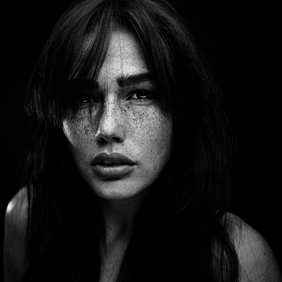 Freckles Photograph - Freckles [romi] by Martin Krystynek Qep