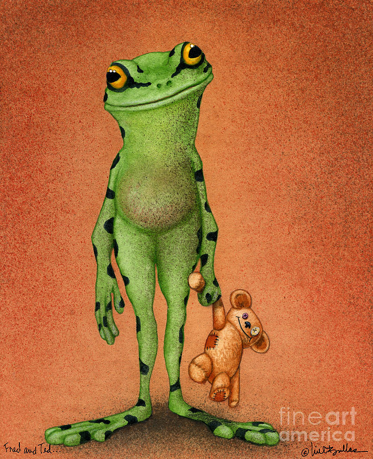 Will Bullas Painting - Fred And Ted... by Will Bullas