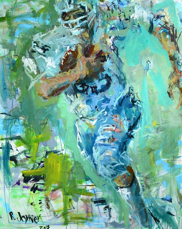 Art Painting - Fred Biletnikoff by Robert Joyner