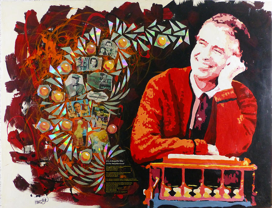 Fred Rogers Painting By Jack Hanzer Susco