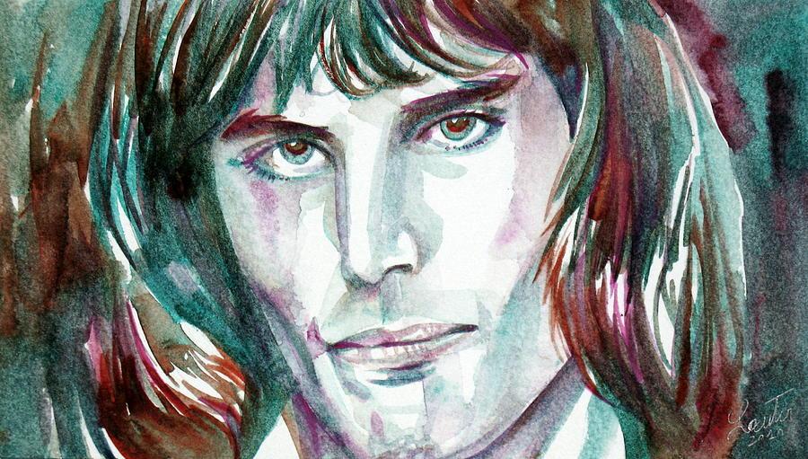 Mercury Painting - Freddie Mercury Portrait.2 by Fabrizio Cassetta