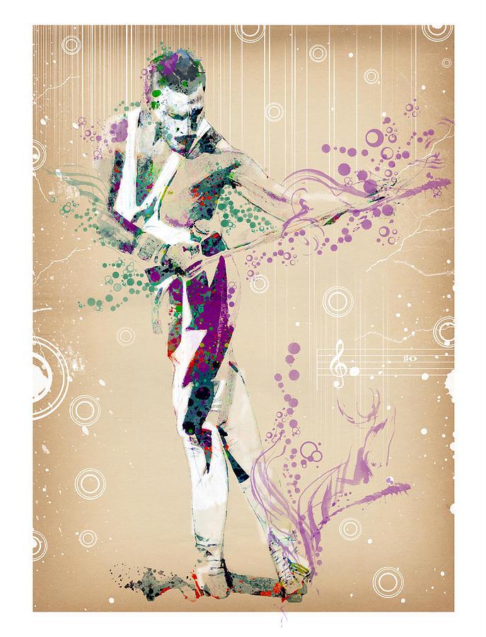 Freddie Mercury Painting - Freddie Mercury Vintage by Bekim M