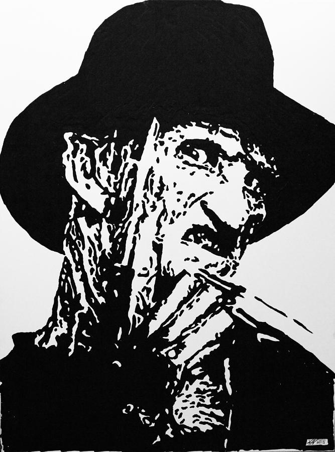 Freddy Krueger Painting - Freddy Krueger by Kris Night