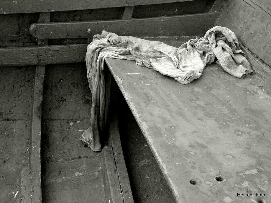 Boat Photograph - Free Body by Helena Lagartinho